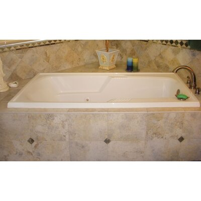 Designer Isabella 66 x 36Soaking Bathtub Finish: Bone