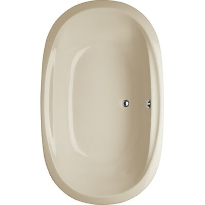 Builder Duo Oval 66 x 44 Soaking Bathub Finish: Almond