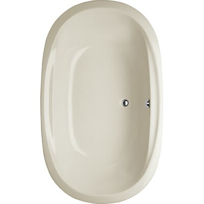 Builder Duo Oval 66 x 44 Soaking Bathub Finish: Biscuit