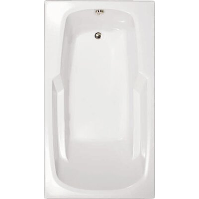 Builder 72 x 36 Whirlpool Bathtub Finish: White