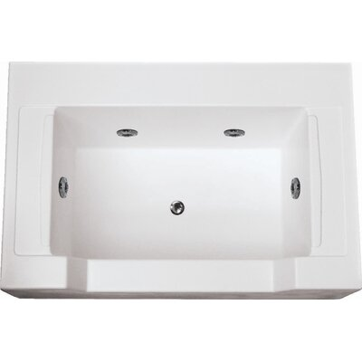 Specialty Petopia 60 x 40 Salon Spa Soaking Bathtub with Combo System Finish: White