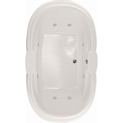 Designer Yvette 72 x 42 Air Tub Finish: Bone