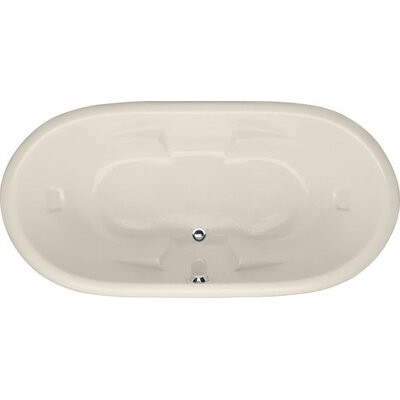 Designer Aimee 72 x 36 Soaking Bathtub Finish: Biscuit