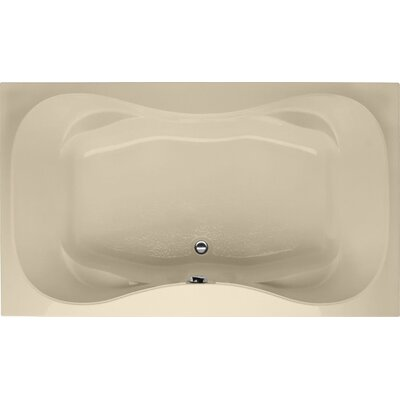 Builder Hourglass 72 x 42 Soaking Bathtub Finish: Bone
