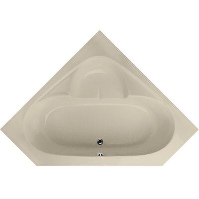 Builder 59 x 59 Soaking Bathtub Finish: Almond