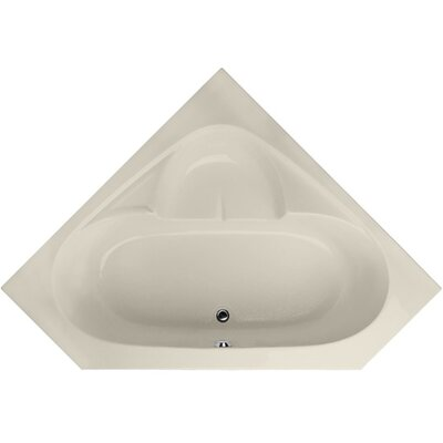 Builder 59 x 59 Soaking Bathtub Finish: Biscuit