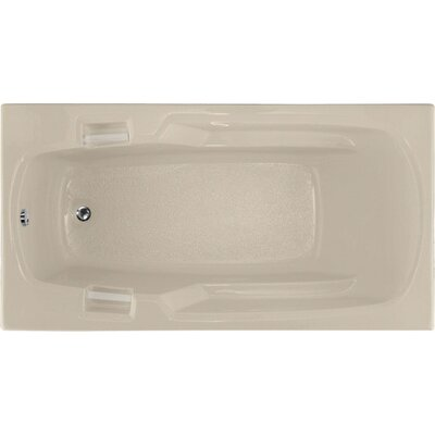 Builder 60 x 32 Soaking Bathtub Finish: Almond
