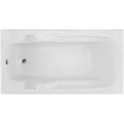 Builder 60 x 32 Soaking Bathtub Finish: White