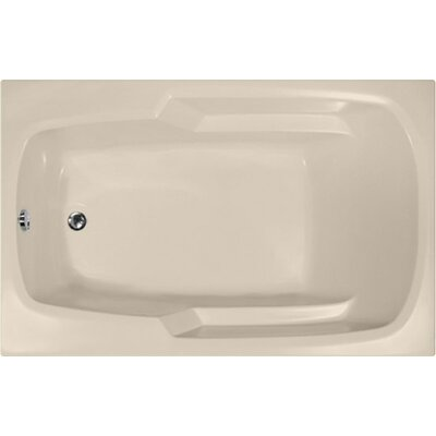 Builder 60 x 36 Soaking Bathtub Finish: Almond