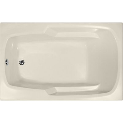 Builder 60 x 36 Soaking Bathtub Finish: Biscuit