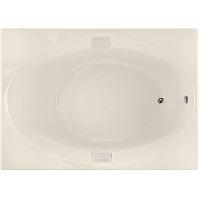 Builder 60 x 42 Soaking Bathtub Finish: Biscuit
