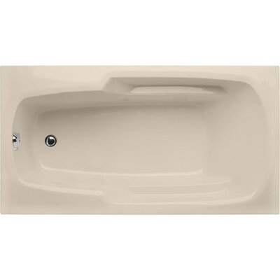 Builder 72 x 36 Soaking Bathtub Finish: Almond