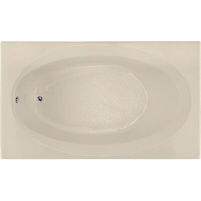 Builder 72 x 42 Soaking Bathtub Finish: Almond