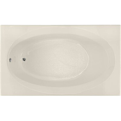 Builder 72 x 42 Soaking Bathtub Finish: Biscuit