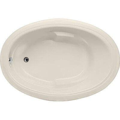 Builder Oval 66 x 42Soaking Bathtub Finish: Biscuit