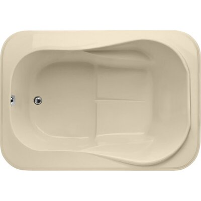 Designer Cassi 60 x 42  Soaking Bathtub Finish: Bone