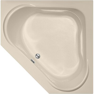 Designer Clarissa 55 x 55 Soaking Bathtub Finish: Almond