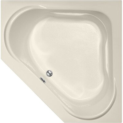Designer Clarissa 55 x 55 Soaking Bathtub Finish: Biscuit
