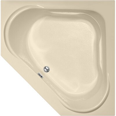 Designer Clarissa 55 x 55 Soaking Bathtub Finish: Bone