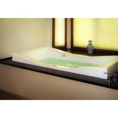 Designer Danika 73 x 41 Soaking Bathtub Finish: White