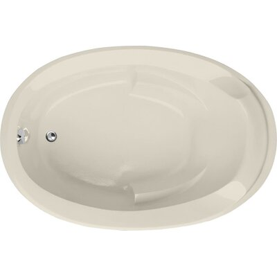 Designer Deanna 60 x 36 Soaking Bathtub Finish: Biscuit