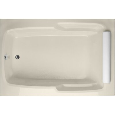 Designer Duo 60 x 48 Soaking Bathtub Finish: Biscuit