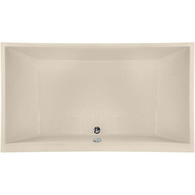 Designer Eileen 86 x 50 Soaking Bathtub Finish: Almond