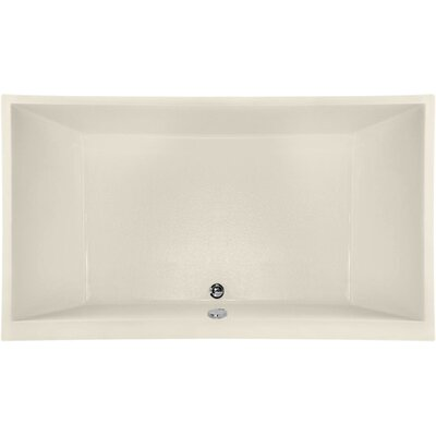 Designer Eileen 74 x 38 Soaking Bathtub Finish: Biscuit