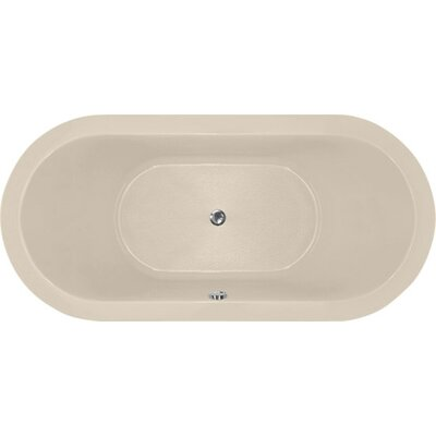 Designer Elle 66 x 32 Soaking Bathtub Finish: Almond