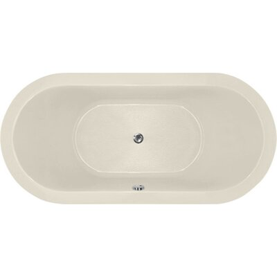Designer Elle 72 x 36 Soaking Bathtub Finish: Biscuit