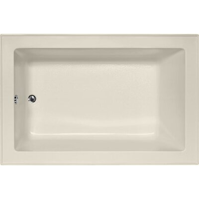 Designer Emma 66 x 42 Soaking Bathtub Finish: Biscuit