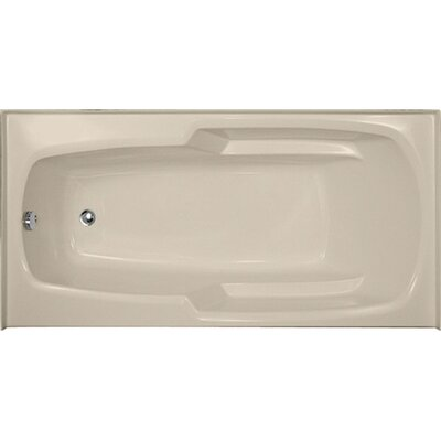 Designer Entre 66 x 32 Soaking Bathtub Finish: Almond
