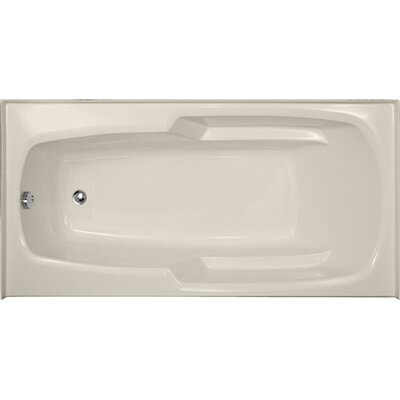 Designer Entre 60 x 32 Soaking Bathtub Finish: Biscuit