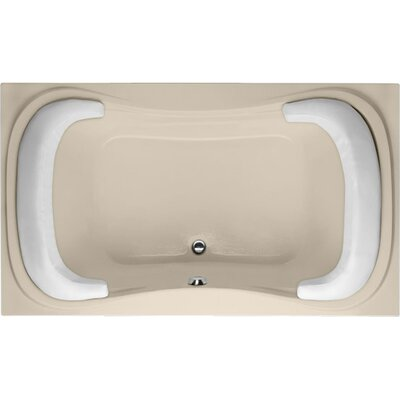Designer Fantasy 60 x 42 Soaking Bathtub Finish: Almond