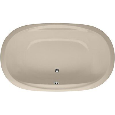 Designer Galaxie 66 x 38 Soaking Bathtub Finish: Almond