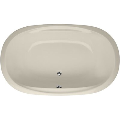 Designer Galaxie 60 x 38 Soaking Bathtub Finish: Bone