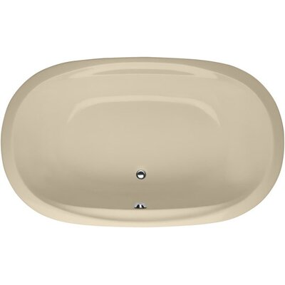 Designer Galaxie 66 x 38 Soaking Bathtub Finish: Bone