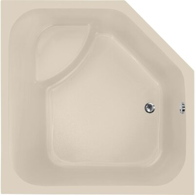 Designer Katarina 69 x 69 Soaking Bathtub Finish: Almond