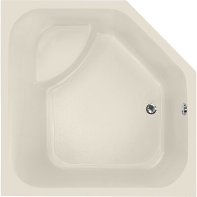 Designer Katarina 69 x 69 Soaking Bathtub Finish: Biscuit