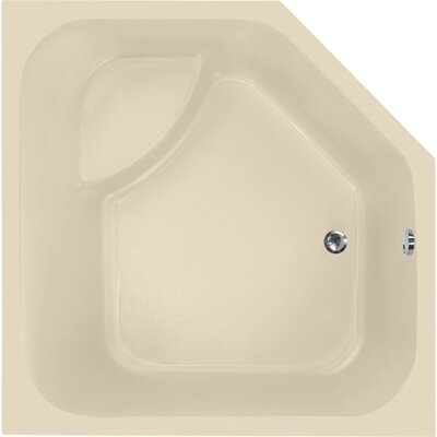 Designer Katarina 69 x 69 Soaking Bathtub Finish: Bone