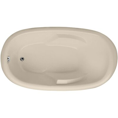 Designer Kimberly 66 x 40 Soaking Bathtub Finish: Almond