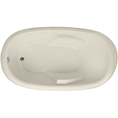 Designer Kimberly 66 x 40 Soaking Bathtub Finish: Biscuit