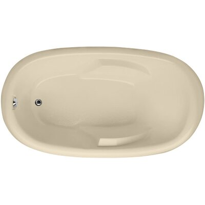 Designer Kimberly 66 x 40 Soaking Bathtub Finish: Bone