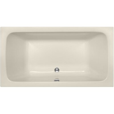 Designer Kira 60 x 32 Soaking Bathtub Finish: Biscuit