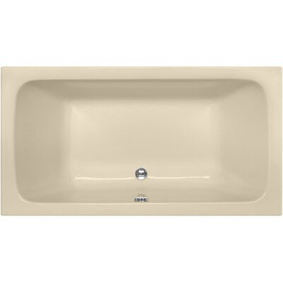 Designer Kira 60 x 32 Soaking Bathtub Finish: Bone