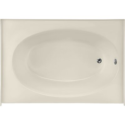 Builder Kona 60 x 42 Soaking Bathtub Finish: Biscuit