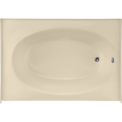 Builder Kona 60 x 42 Soaking Bathtub Finish: Bone