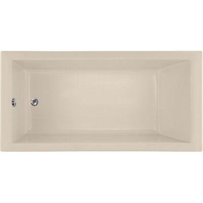 Designer Lacey 60 x 30 Soaking Bathtub Finish: Almond