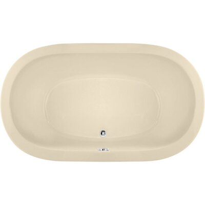 Designer Liliana 66 x 42 Soaking Bathtub Finish: Bone