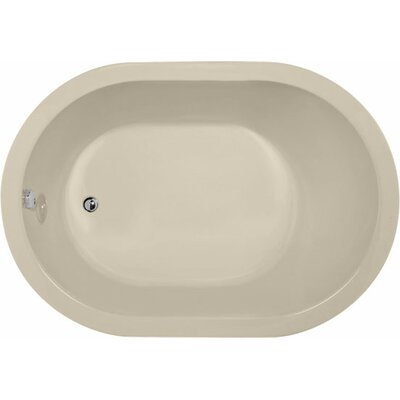 Designer Malia 60 x 32 Soaking Bathtub Finish: Almond